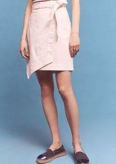 Anthropologie Pilcro Asymmetrical Chino Skirt