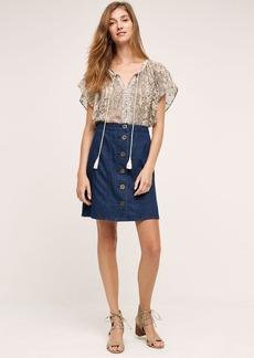 Anthropologie Pilcro Denim Skirt