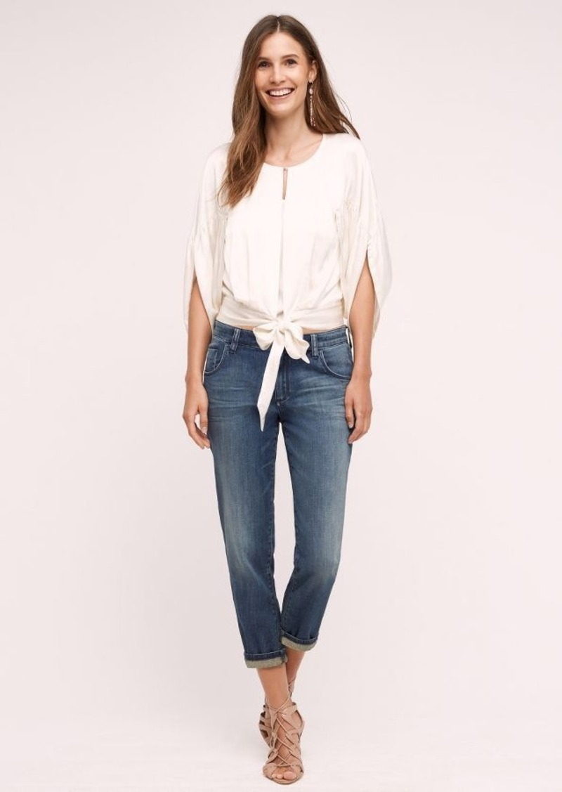 Anthropologie Pilcro Em High-Rise Relaxed Jeans