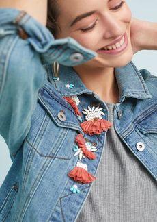 Pilcro Embellished Denim Jacket