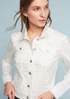 Pilcro Embroidered Denim Jacket