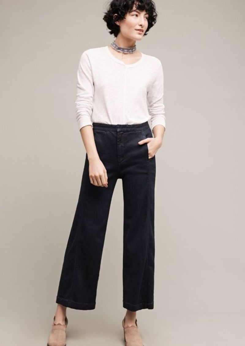 Anthropologie Pilcro High-Rise Crop Jeans