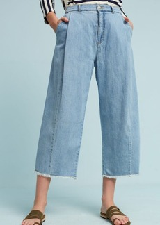 Anthropologie Pilcro High-Rise Wide-Leg Cropped Jeans