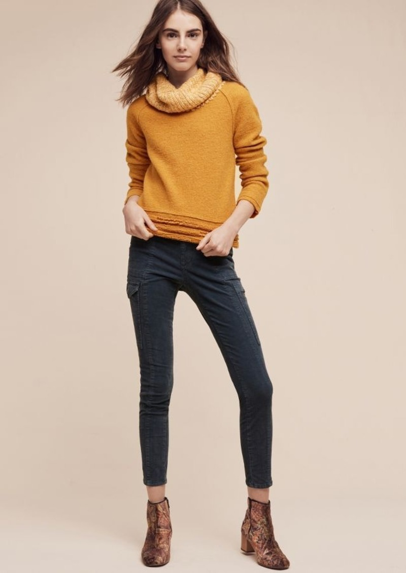 Anthropologie Pilcro Mid-Rise Skinny Utility Cords