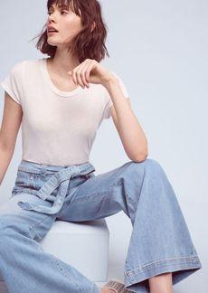 Pilcro Palazzo Ultra-High-Rise Jeans