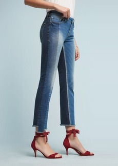 Anthropologie Pilcro Parallel Mid-Rise Straight Jeans