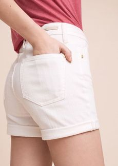 Pilcro Script High-Rise Shorts