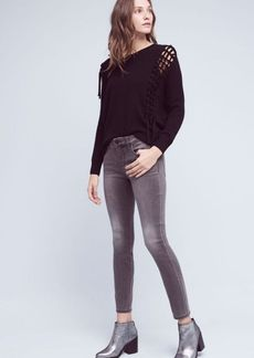 Pilcro Stet Mid-Rise Ankle Jeans
