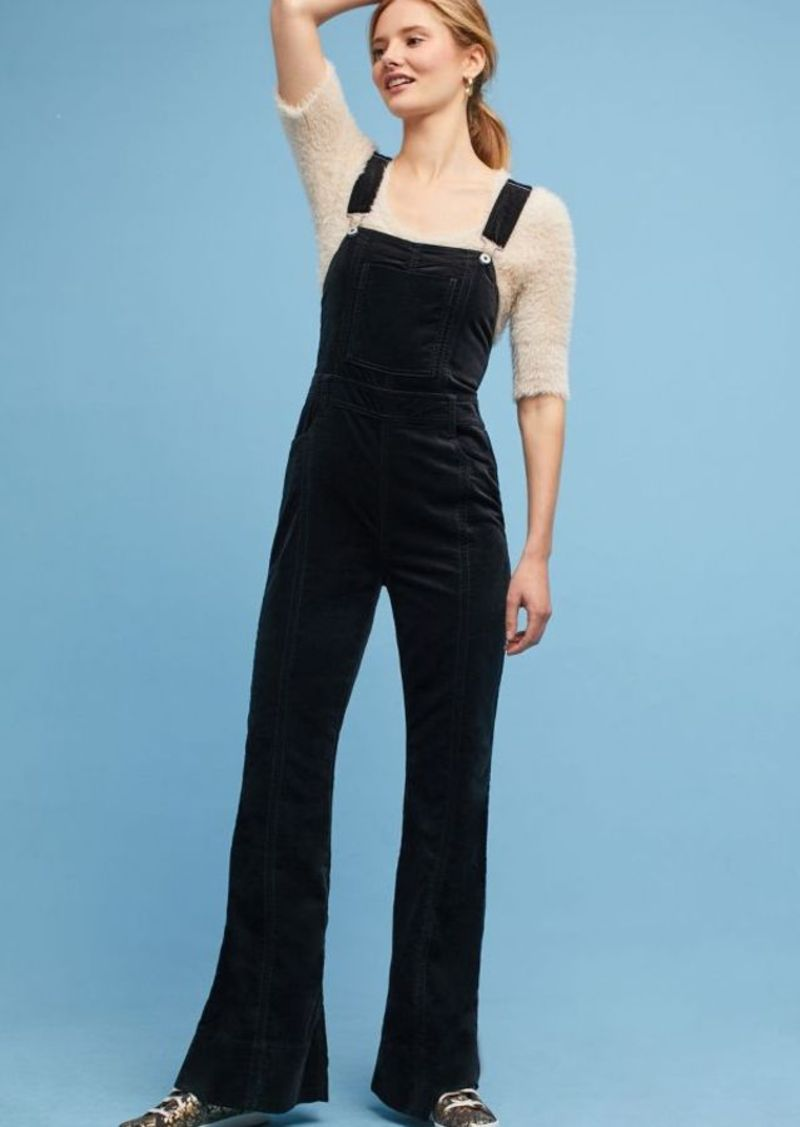69df2dc5e85 On Sale today! Anthropologie Pilcro Velvet Overalls