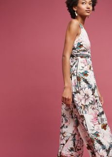 Anthropologie Plenty by Tracy Reese Gwyneth Floral Jumpsuit