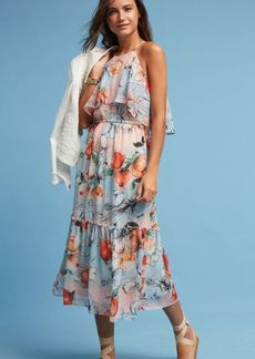 Anthropologie Poppy Midi Dress