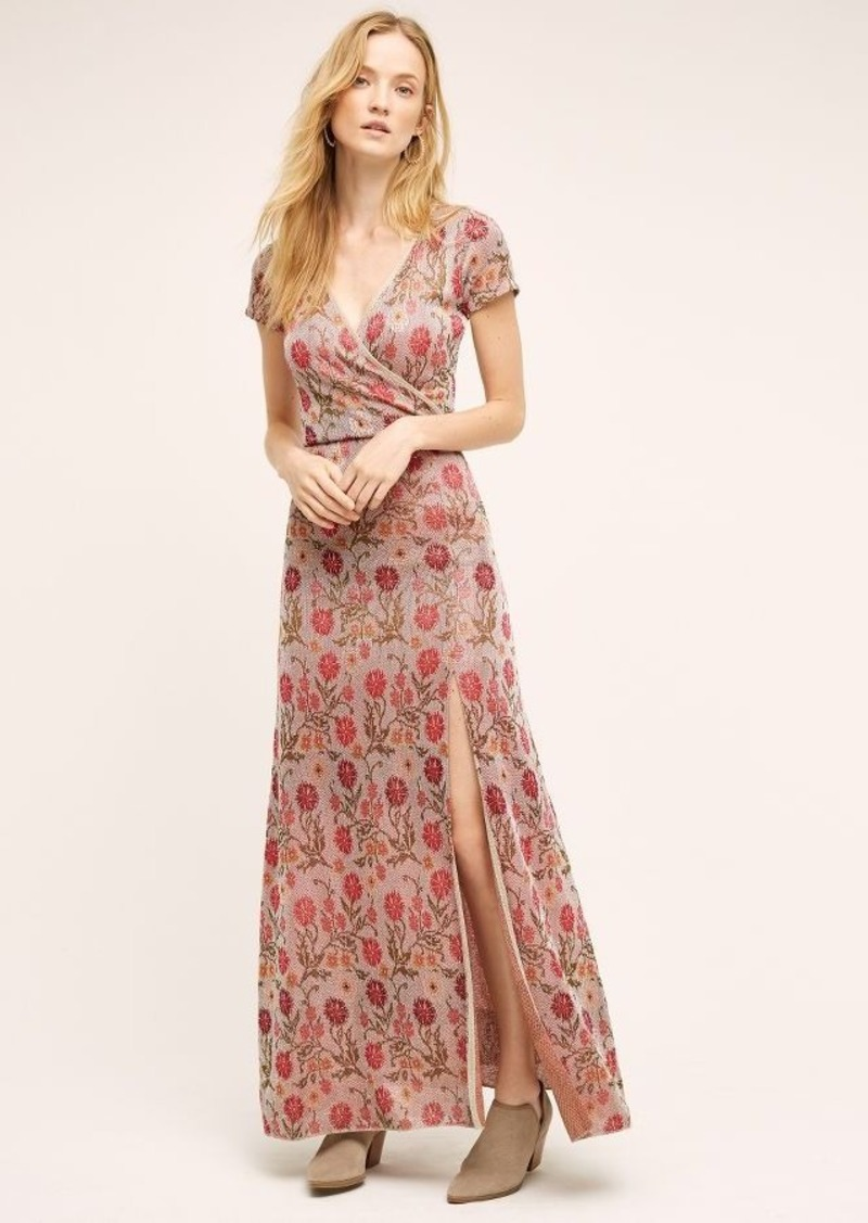 5a4cd7d5464 Anthropologie Posy Maxi Sweater Dress