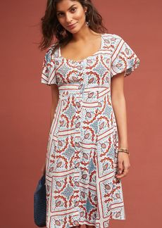 Anthropologie Praslin Printed Dress