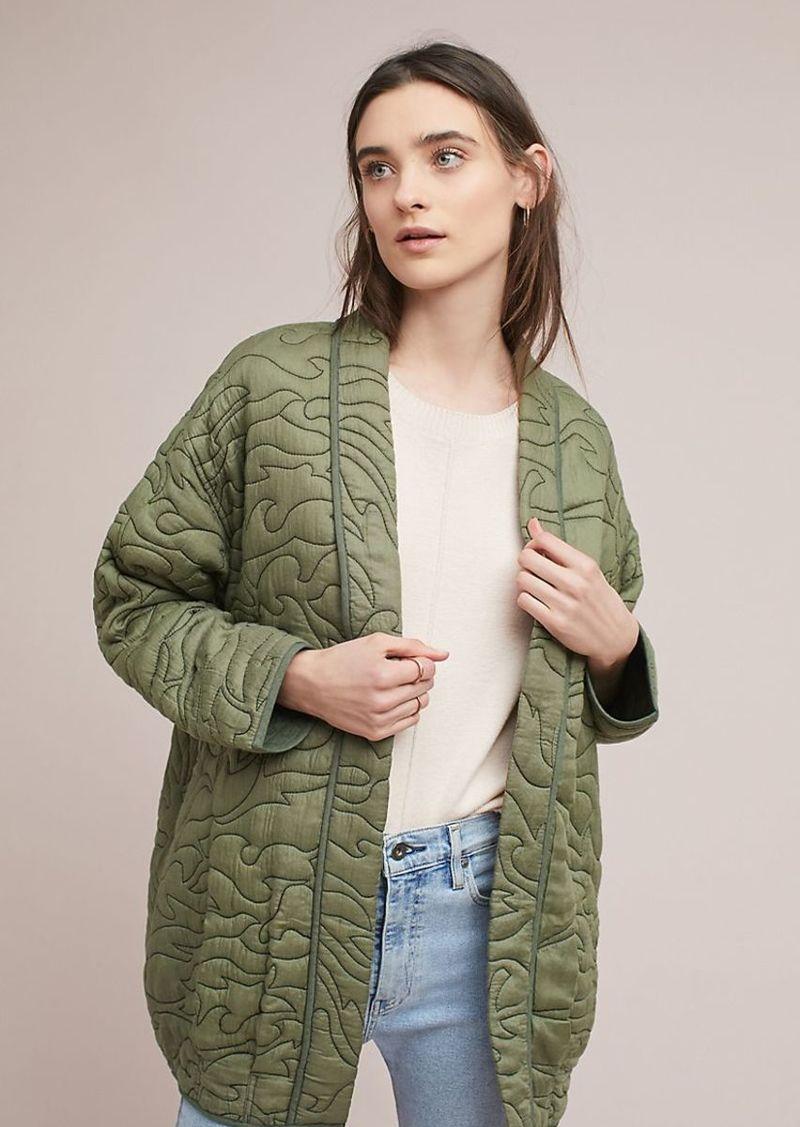 43688415470 Anthropologie Quilted Kimono Jacket