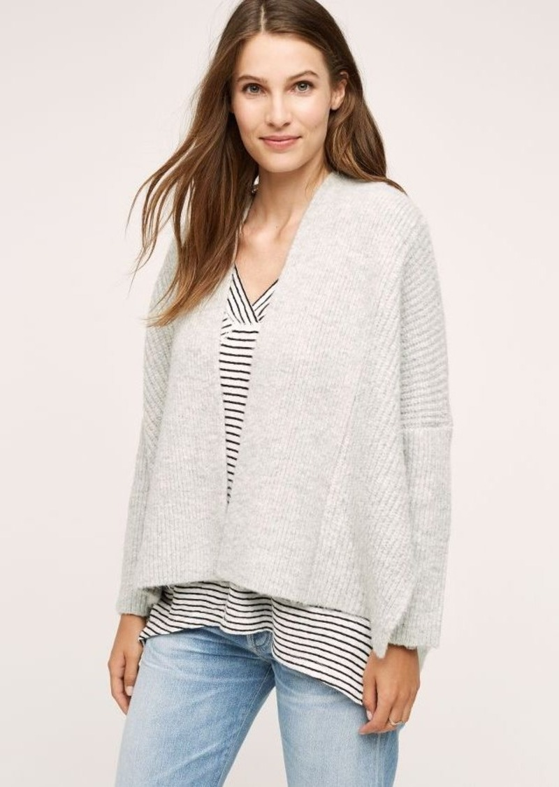 Anthropologie Rease Structured Cardigan