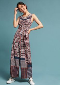 Anthropologie Rena Wide-Leg Jumpsuit