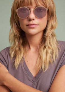 Anthropologie Rosie Mirrored Sunglasses