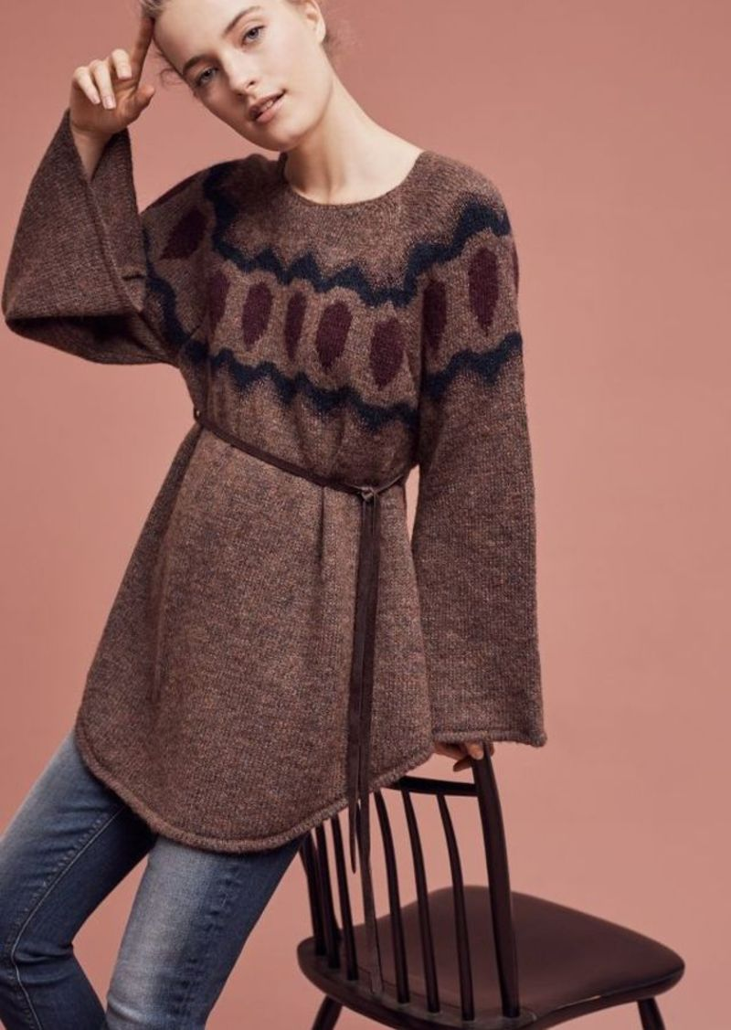 Anthropologie Royanna Poncho Pullover