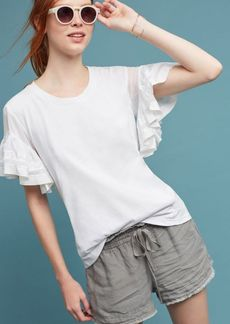 Anthropologie Ruffled Sorrento Top