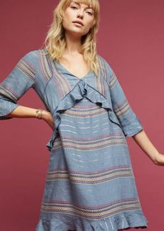Ruffled Stripe Tunic Dress