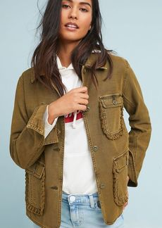 Ruffled Utility Jacket