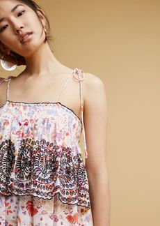 Anthropologie Samsa Embroidered Sundress