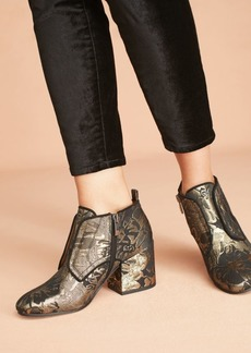 Anthropologie Sarto by Franco Sarto Alfie Brocade Ankle Boots