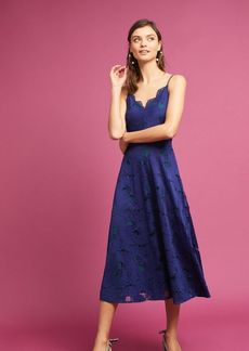 Anthropologie Scalloped Lace Dress