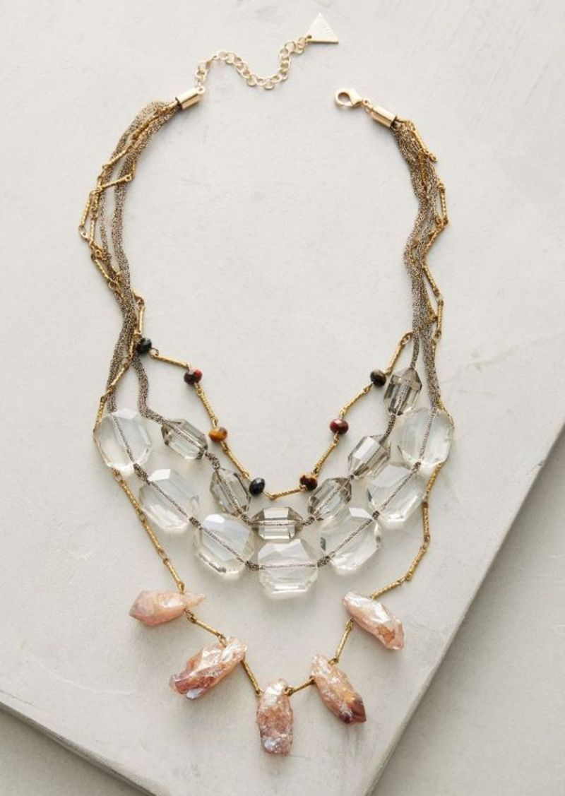 Anthropologie Selma Layer Necklace