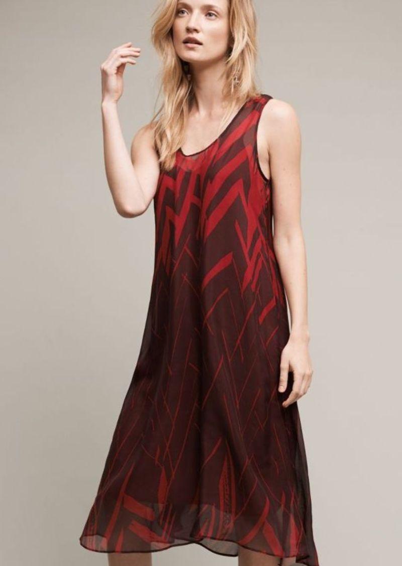 Anthropologie Serengeti Midi Dress