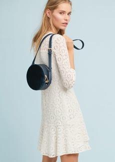 Shoshanna Asymmetrical Ruffle Dress
