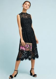 Anthropologie Shoshanna Floral Lace Dress