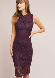 Shoshanna Layered Lace Dress