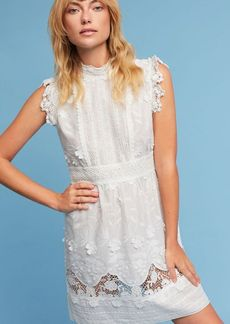 Anthropologie Silk & Lace Dress