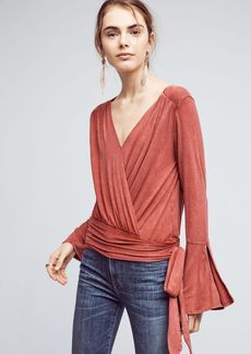 Anthropologie Sirpo Wrapped Pullover