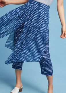 Anthropologie Skirted Waterfront Pants