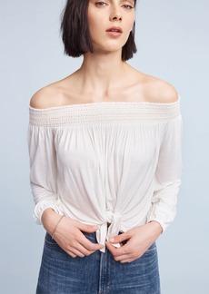 Smocked Off-The-Shoulder Top