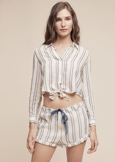 Anthropologie Solid & Striped Taylor Resort Shorts