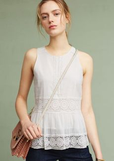 Anthropologie Sonia Peplum Top