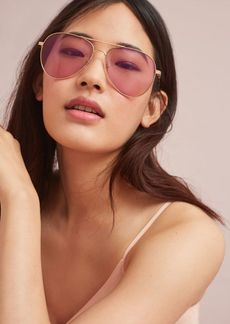 Anthropologie Sonix Lodi Aviator Sunglasses