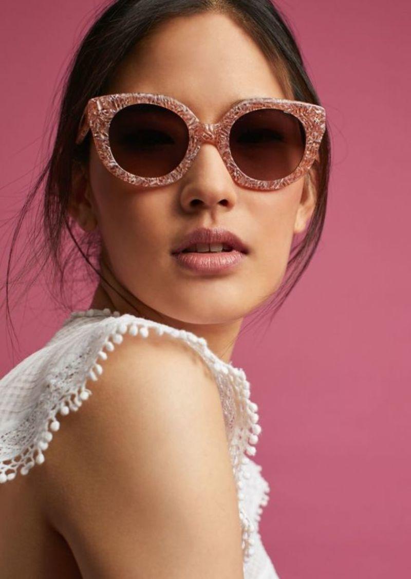 44f8a539b4 Anthropologie Sonix Marble Cat-Eye Sunglasses