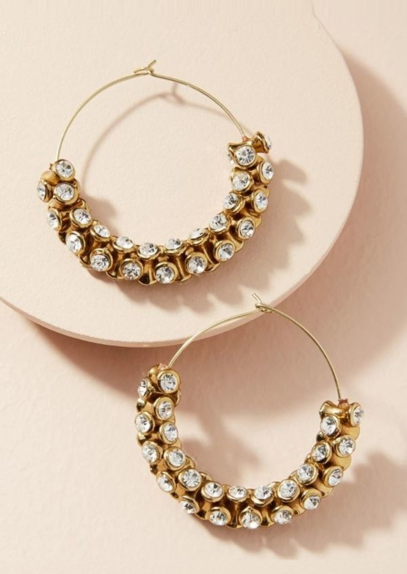 de855fb4ffbf4 Anthropologie hoop earrings