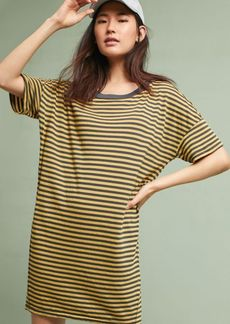 Anthropologie Stateside Striped T-Shirt Dress