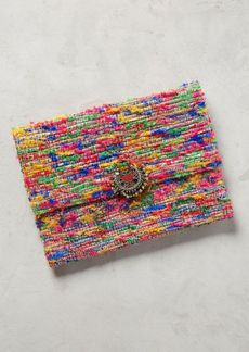Anthropologie Static Clutch