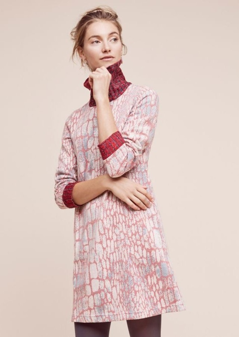 Anthropologie Suma Turtleneck Dress