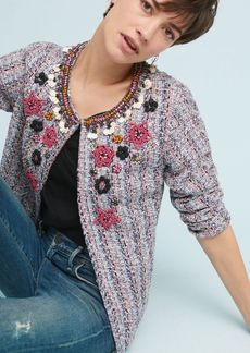 Suzy Embellished Tweed Jacket