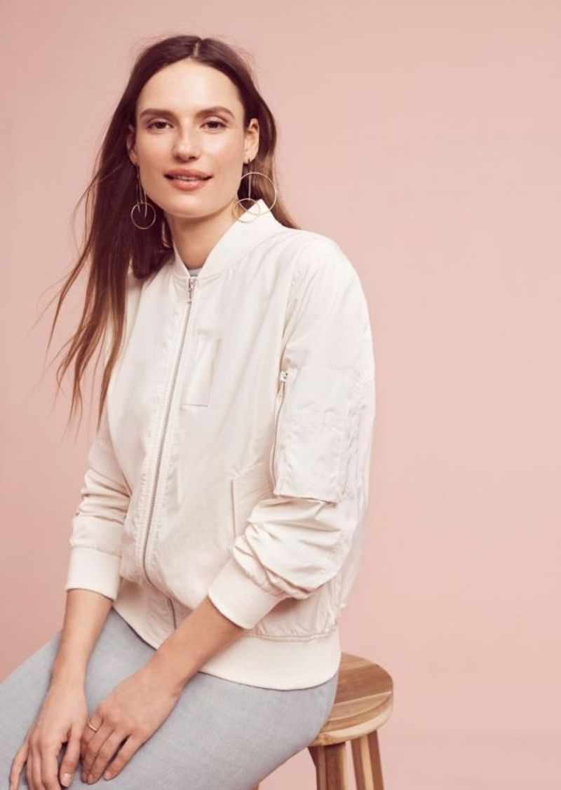 Anthropologie Techy Soild Bomber