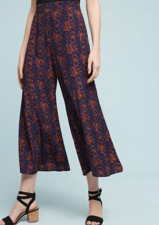 Anthropologie Tessie Wide-Leg Crops