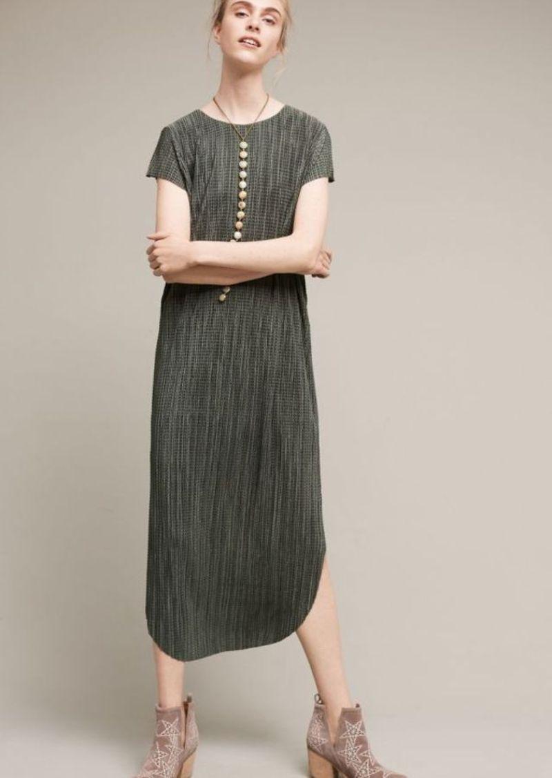 Anthropologie Textured Renaissance Midi Dress