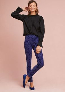 Anthropologie The Essential Cropped Skinny Trousers